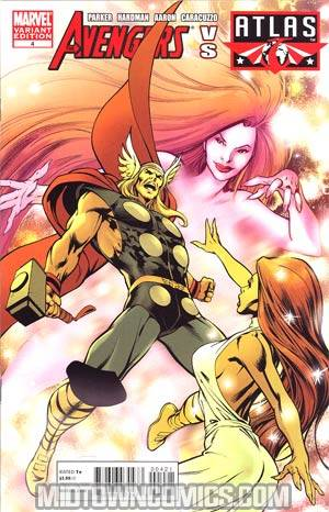 Avengers vs Agents Of Atlas #4 Incentive Alan Davis Variant Cover