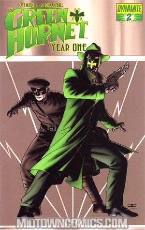 Green Hornet Year One #2 Cover E Spot Color John Cassaday Cover