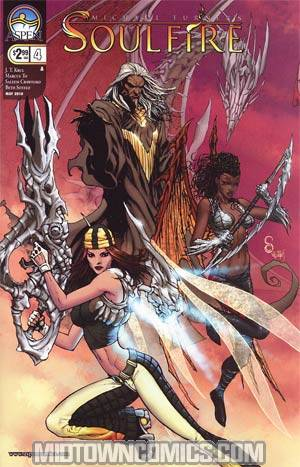 Soulfire Vol 2 #4 Cover A Scott Clark