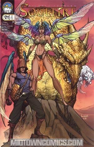 Soulfire Vol 2 #4 Cover B Ale Garza