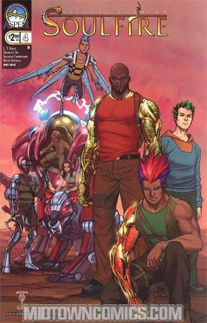 Soulfire Vol 2 #4 Cover D Marcus To