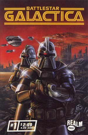 Battlestar Galactica Vol 3 #1 Cover A Cylon Cover