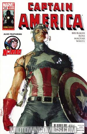 Captain America Vol 5 #605 Cover A Regular Gerald Parel Cover