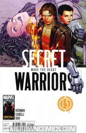 Secret Warriors #15 Cover A Regular Jim Cheung Cover