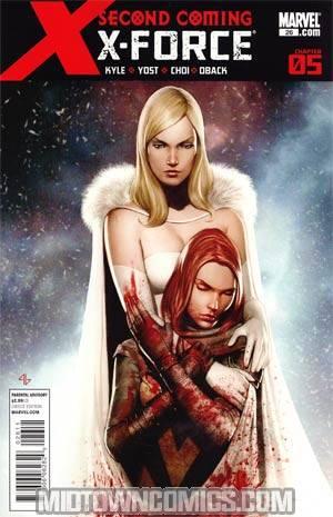 X-Force Vol 3 #26 1st Ptg Regular Adi Granov Cover (X-Men Second Coming Part 5)