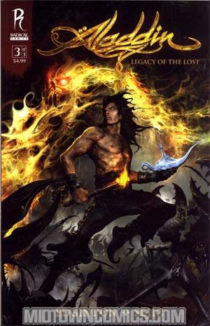 Aladdin Legacy Of The Lost#3 Cover B Regular Clint Langley Cover