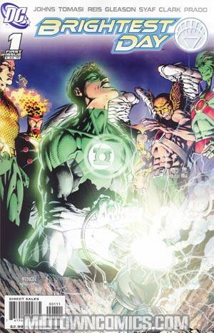 Brightest Day #1 Regular David Finch Cover