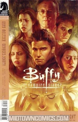 Buffy The Vampire Slayer Season 8 #35 Jo Chen Cover