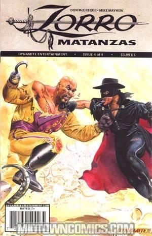 Zorro Matanzas #4