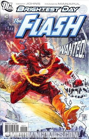 Flash Vol 3 #2 Cover A Regular Francis Manapul Cover (Brightest Day Tie-In)