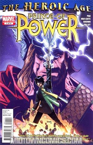 Heroic Age Prince Of Power #1