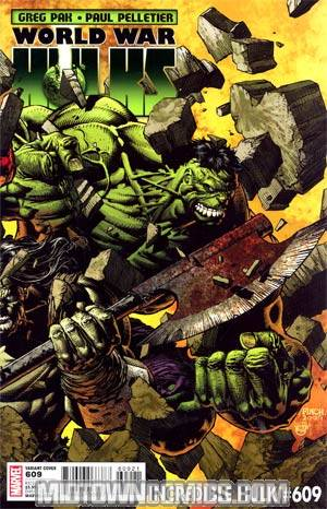 Incredible Hulk Vol 3 #609 Incentive David Finch Variant Cover (World War Hulks Tie-In)
