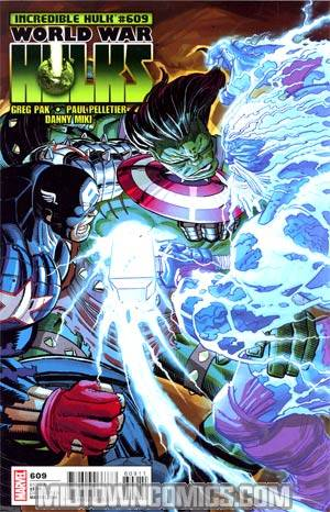Incredible Hulk Vol 3 #609 Regular John Romita Jr Cover (World War Hulks Tie-In)