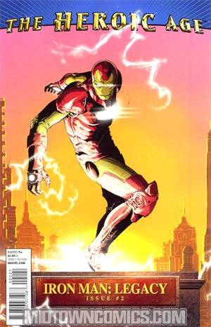Iron Man Legacy #2 Incentive Heroic Age Variant Cover