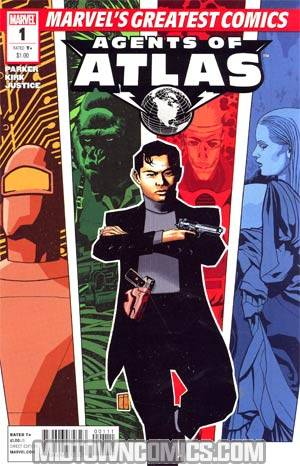 Marvels Greatest Comics Agents Of Atlas #1