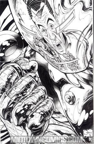 Siege (Marvel) #4 Cover E Incentive Joe Quesada Sketch Cover
