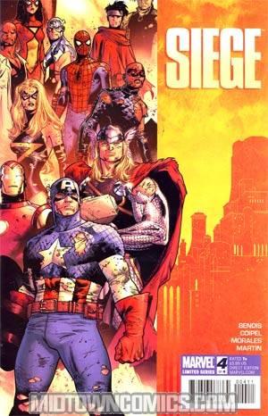 Siege (Marvel) #4 Cover A Regular Olivier Coipel Cover