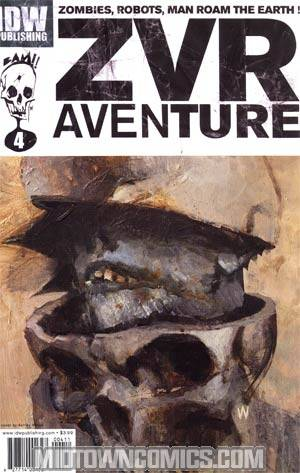 Zombies vs Robots Aventure #4 Regular Ashley Wood Cover