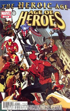 Age Of Heroes (Marvel) #1 Cover A 1st Ptg Regular GRegular Tocchini Cover (Heroic Age Tie-In)