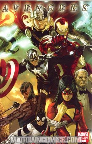Avengers Vol 4 #1 Cover D Incentive Marko Djurdjevic Variant Cover (Heroic Age Tie-In)