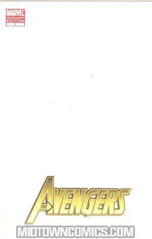 Avengers Vol 4 #1 Cover B Variant I Am An Avenger Blank Cover (Heroic Age Tie-In)