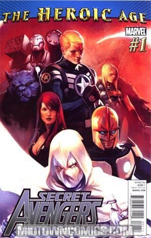 Secret Avengers #1 1st Ptg Regular Marko Djurdjevic Cover (Heroic Age Tie-In)