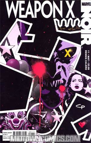 Weapon X Noir #1 Cover A Regular CP Smith Cover