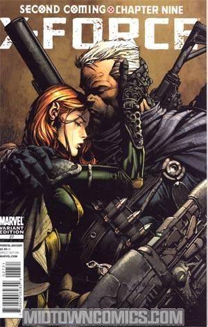 X-Force Vol 3 #27 Incentive David Finch Variant Cover (X-Men Second Coming Part 9)