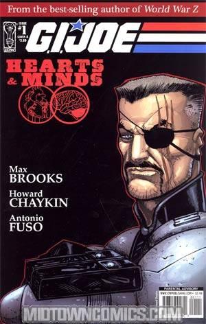 GI Joe Hearts And Minds #1 Regular Cover A