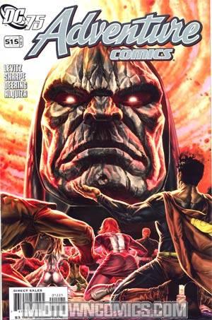 Adventure Comics Vol 2 #12 Cover B Incentive Adventure Comics 515 DC 75th Anniversary By Lee Bermejo Variant Cover