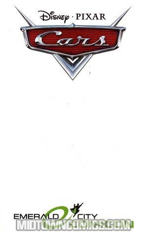 Disney Pixars Cars #1 Cover C Emerald City Comicon Blank Variant Cover