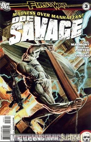 Doc Savage Vol 4 #3 Regular JG Jones Cover
