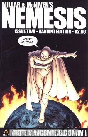 Millar & McNivens Nemesis #2 Cover C Incentive John Cassaday Variant Cover