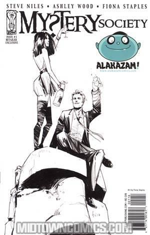 Mystery Society #1 Alakazam Comics Fiona Staples Variant Cover