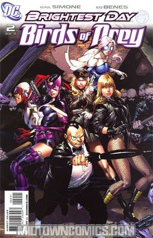 Birds Of Prey Vol 2 #2 1st Ptg (Brightest Day Tie-In)