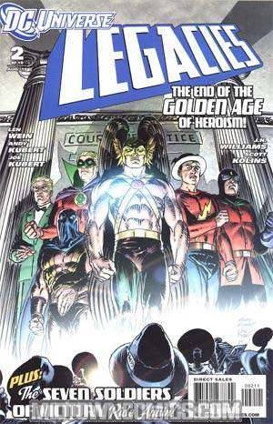 DC Universe Legacies #2 Cover A Regular Andy Kubert & Joe Kubert Cover