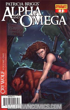 Patricia Briggs Alpha & Omega Cry Wolf Vol 1 #1 Brett Booth Cover