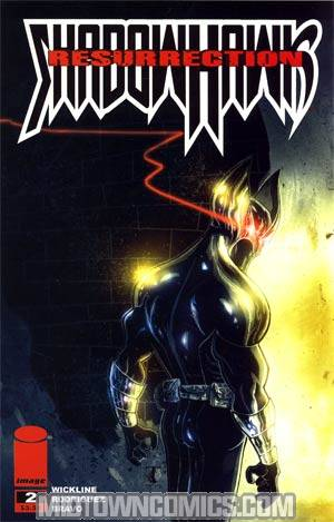 Shadowhawk Vol 3 #2 Cover A Ben Templesmith Cover