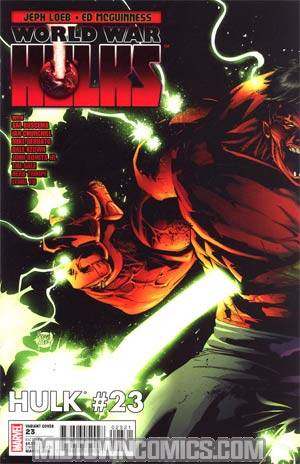 Hulk Vol 2 #23 Incentive Adam Kubert Variant Cover (World War Hulks Tie-In)