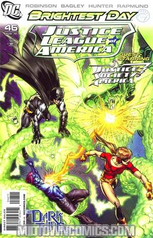 Justice League Of America Vol 2 #46 Regular Mark Bagley Cover (Brightest Day Tie-In)(Dark Things Part 1)
