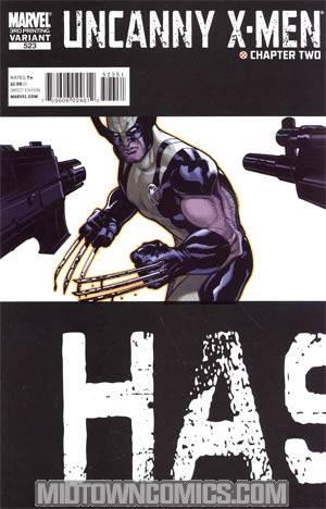 Uncanny X-Men #523 3rd Ptg Variant Cover (X-Men Second Coming Part 2)