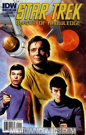 Star Trek Burden Of Knowledge #1 Regular Joe Corroney Cover