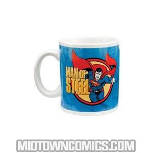 Superman Man Of Steel 12-Ounce Ceramic Mug