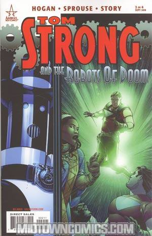Tom Strong And The Robots Of Doom #2