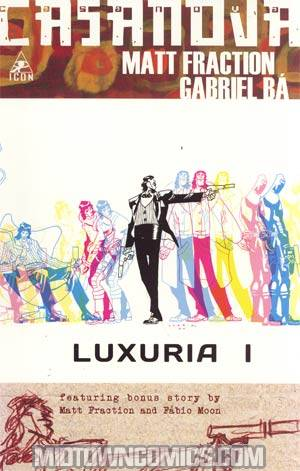 Casanova (Marvel/Icon Edition) #1 1st Ptg