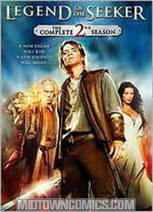 Legend Of The Seeker The Complete Season 2 DVD