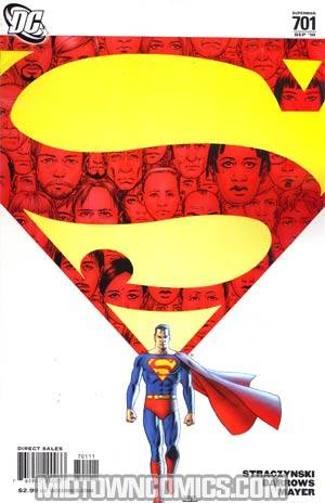 Superman Vol 3 #701 Regular John Cassaday Cover