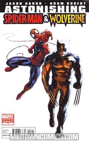 Astonishing Spider-Man Wolverine #1 Cover C 2nd Ptg Adam Kubert Variant Cover