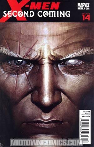 X-Men Second Coming #2 Regular Adi Granov Cover (X-Men Second Coming Part 14)
