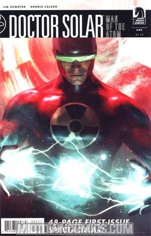 Doctor Solar Man Of The Atom Vol 2 #1 Regular Michael Komarck Cover
